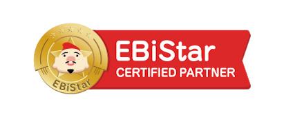 「EBiStar」認定パートナーを取得