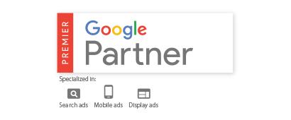「Google Partner プレミアパートナー」に認定
